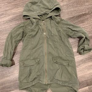 Army green jacket, American eagle size small